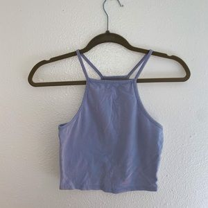 Nollie Lilac Crop Top Women's Size Small